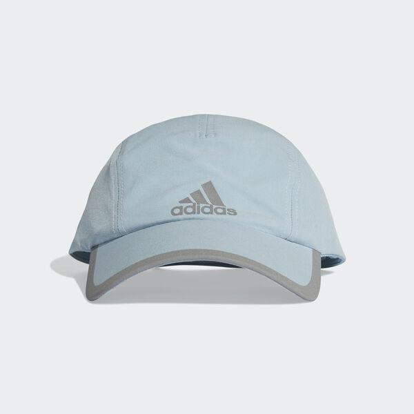 a499874233adf adidas Climalite Running Cap - Grey